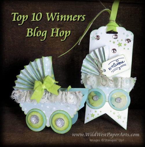 June International Blog Hop Buggy  at WildWestPaperArts.com