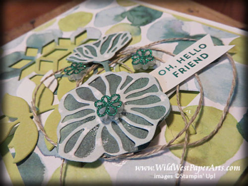 Eclectic Pattern Pick for the Pals Blog Hop June 2017 at WildWestPaperArts.com