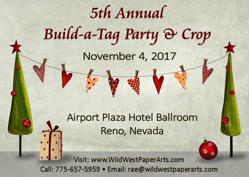 Build-A-Tag Party & Crop at WildWestPaperArts.com