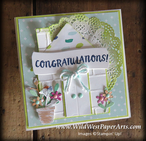 Your First Home at WldWestPaperArts.com
