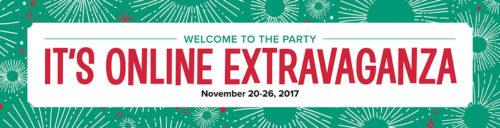 Stampin' UP! Online Extravaganza November 2017 at WildWestPaperArts.com
