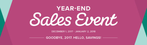 2017 Year End Sales Event at WildWestPaperArts.com