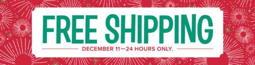 Free Shipping Countdown at WildWestPaperArts.com