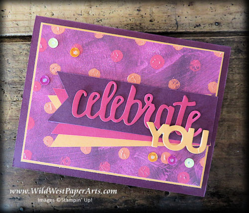 Paint Yourself in Celebrtion! at WildWestPaperArts.com